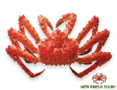 Cooked Canadian King Crab