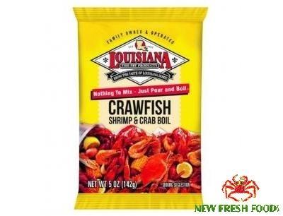 Bột Gia Vị Louisiana Crawfish Shrimp & Crab Boil (142G)