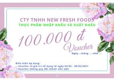 Vui Mua Sắm Nhận Ưu Đãi    Tặng Ngay Voucher 100K