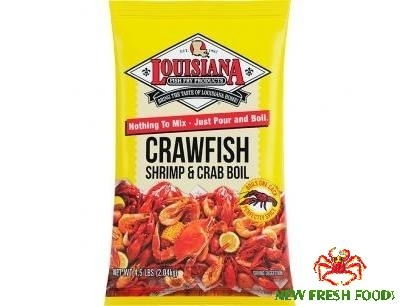 Bột Gia Vị Louisiana Crawfish Shrimp & Crab Boil (2.04Kg)