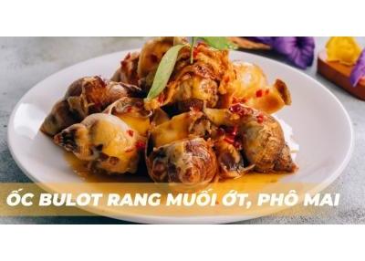 Ốc Bulot Rang Muối, Phô Mai