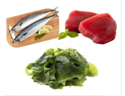 Combo 49: 1Kg Cá Saba Nhật +  500Gram Cá Ngừ Cắt Lát + 300Gram Rong Biển Tươi