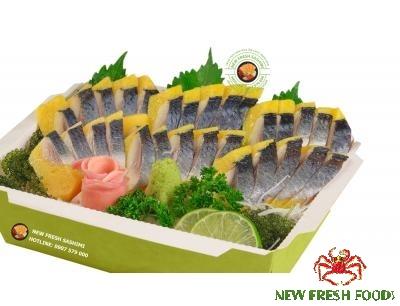Sashimi Cá Trích Ép Trứng Nisshin 04